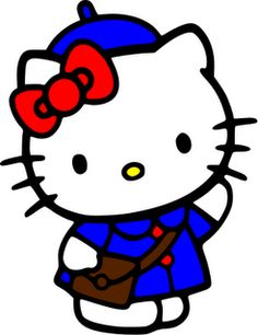 Hello Kitty Back to School svg