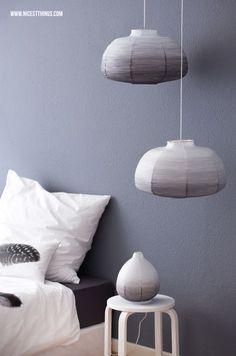DIY Ombre Art - DIY Ombre Lamp