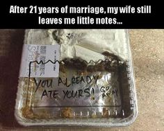 36 Hilarious Pictures about Marriage - LOL 2 - Humor Haha Funny, Funny Cute, Funny Memes, Funny Stuff, Funny Shit, Memes Humor, Funny Sarcasm, Ecards Humor, Food Humor