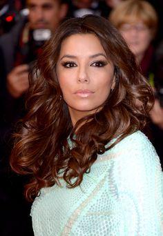 festival internacional de cine de Cannes 2013 emma watson carey mulligan lana del rey great gatsby looks de belleza - Eva Longoria