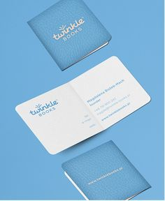 Business cards for a brand of little, colorful photo albums dedicated for baby photo sessions & cute pictures from Instagram.