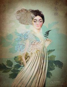 Chinese Flower ~ Catrin Welz-Stein
