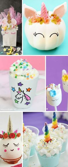 How To Make A Simple Diy Unicorn Card Kids Birthday Party Ideas