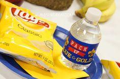 cub scout blue and gold banquet centerpieces | ... .com #cub scouts #blue & gold #party #ideas #scouts #bluegold