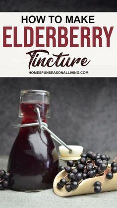 Natural Medicine, Herbal Medicine, Elderberry Medicine, Elderberry Plant, Elderberry Recipes, Elderberry Syrup, Herbal Tinctures, Herbalism, Herbal Remedies