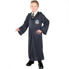 Harry Potter Slytherin Kids' Deluxe Robe