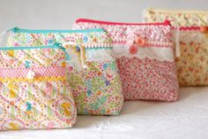 Quilted bags by jasna.janekovic, via Flickr