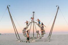 Best Art of Burning Man 2019 Photos — This Life Of Travel Modern Sculpture, Sculpture Art, Man Photo, Photo Art, Burning Man Art, Recycle Cans, Meditation Art, Before Sunrise, What The World