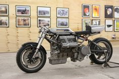 Maserati V6 Cafe Racer by Crossbreed Cycles #motorcycles #caferacer #motos | caferacerpasion.com