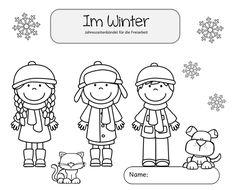 """Ideenreise: Freiarbeitsbündel """"Im Winter"""""""
