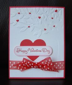 Stampin Up Handmade Valentine 4 Card Kit w sample, with embossing Valentines Greetings, Valentine Greeting Cards, My Funny Valentine, Valentine Crafts, Greeting Cards Handmade, Valentine Nails, Valentine Ideas, Embossed Cards, Card Kit
