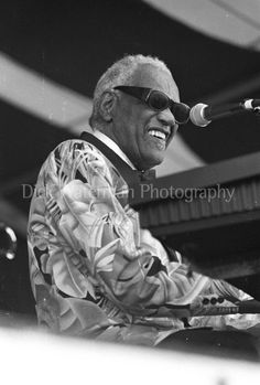 Ray Charles, New Orleans Jazz Festival 1995