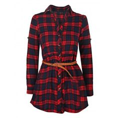 SHARE & Get it FREE   Trendy Long Sleeve Shirt Collar Plaid Women's DressFor Fashion Lovers only:80,000+ Items·FREE SHIPPING Join Dresslily: Get YOUR $50 NOW!
