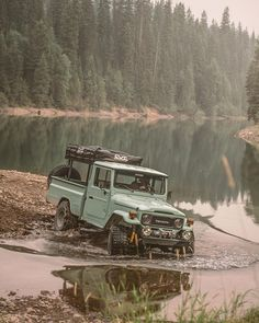 Custom Land Cruiser 40 series - Built to Order Toyota Fj40, Toyota Trucks, Ford Trucks, Fj Cruiser, Toyota Land Cruiser, Cummins, Jeep Willis, Expedition Vehicle, Best Muscle Cars