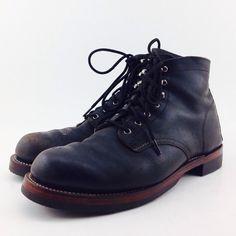 Wolverine boots resoled w/ Biltrite & Catspaw heels.