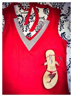 Red hot items at #NicciBoutiques
