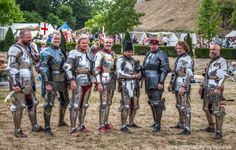Left to Right: Jan Gradon, Steve R. Gagnon, Pelle/Per Estein Prøis-Røhjell, Andy Deane,  Ben van Koert, Patrice Rolland, Phillip Leitch and Jarek Struczynski at Arundel 2014  (photo by ARW Photography)-The Jousting Life