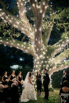 Exchanging Vows at Outdoor Nighttime Ceremony | Buttercup | Aldie Mansion https://www.theknot.com/marketplace/aldie-mansion-doylestown-pa-514118 | Maggie Sottero | Bijou Bridal | Black by Vera Wang | Place Of Peace | Emily Wren Photography https://www.theknot.com/marketplace/emily-wren-photography-philadelphia-pa-595214