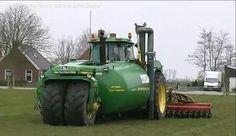 John Deere 4955 manure spreader Custom JD