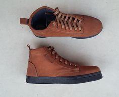 brown suede shoes handmade Rangkayo sneakers by MarapulaiClothing