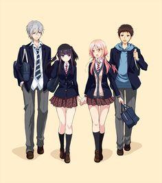 El Anime Netsuzou TRap -NTR- se estrenará en julio del 2017.
