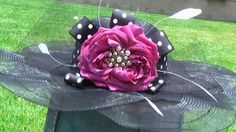 This would make a great derby hat.@ www.charmedjewelry4u.com