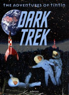 Les Aventures de Tintin - Album Imaginaire - Dark Trek