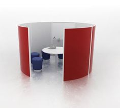 I'm obsessed with office pods. So many designs. So many applications for libraries.