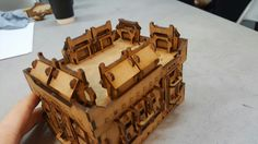 The Hab Block - Bunker conversion kit by MAD Gaming Terrain
