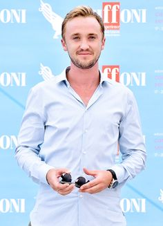 Tom Felton attends the Giffoni Film Festival 2015 - Day 5 photocall on July 21, 2015 in Giffoni Valle Piana, Italy