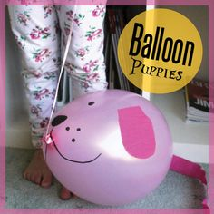 These balloon puppies couldn't be easier to make - and guarantee hours of imaginative play!