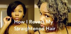 Reversion Routine: Revert To Natural From Straightened Hair [Video] - http://community.blackhairinformation.com/hairstyle-gallery/natural-hairstyles/reversion-routine-revert-natural-straightened-hair-video/