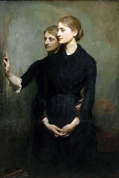 Abbott Handerson Thayer - The Sisters (1884)