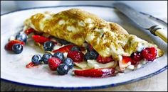 Berry Breakfast Omelette