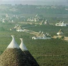 The Trulli houses of Puglia Italy (Il trullo, or cupola) Cool Places To Visit, Places To Travel, Italy Destinations, Regions Of Italy, Italy Tours, Southern Italy, Future Travel, Places Around The World, Italy Travel