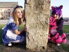 Cheshire Cat Cosplay with Alice (Highfrency) from Alice in Wonderland