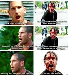 Rick and Shane #TWD
