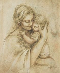 92 Best Art Mother And Child Images In 2019 Mother Child