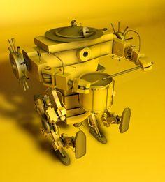 Big WWI Robot
