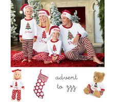 Nothing says holiday like matching PJ's for the whole family!  But wait!  This uniform look is only going to last you 1 year.  If the kids jammies are high quality, however, you'll get a return on resale. Christmas Pajama Party, Christmas Pageant, Christmas Pajamas, Christmas Christmas, Christmas Ideas, Xmas Pics, Xmas Pictures, Holiday Fashion, Holiday Outfits