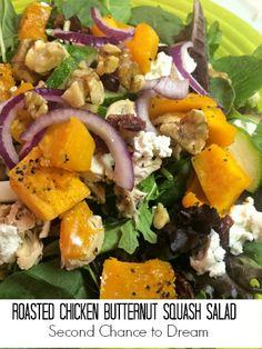 a038827d621 Roasted Chicken Butternut Squash Salad