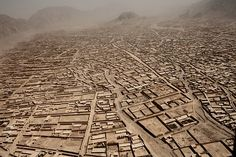 A view of the northern outskirts of Kandahar City, 2010. Adam Ferguson