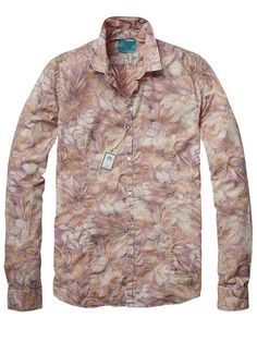 All-over printed flower dress shirt - Shirts - Official Scotch & Soda Online Fashion & Apparel Shops
