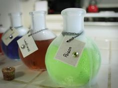 Minecraft Jollyrancher Vodka Witch Potions - Quake N Bake ... Awesome for a gamer or Halloween party!