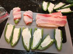 Craftibilities: Bacon Wrapped STUFFED jalapenos - GRILL FAVORITE! {{yum}} - BBQ - Memorial Day, 4th of July, SUMMER TIME fun