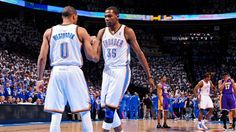 russell westbrook kevin kd durant okc thunder