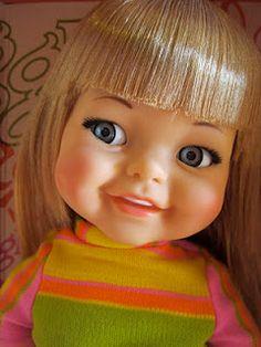 vintage Giggles Doll