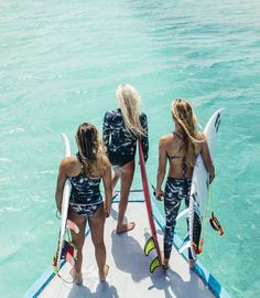 Discovering Water World with Laura Enever, Alessa Quizon and Isabella Nichols in the Maldives.