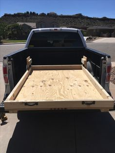 Truck Bed Drawers, Truck Bed Storage, Van Storage, Pickup Camping, Truck Bed Camping, Tent Camping, Truck Tool Box, Truck Tools, Truck Bed Slide