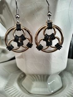 Image result for how to celtic chainmaille earrings